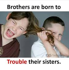 Brother Sister Memes - i love my sweet sister brother home facebook