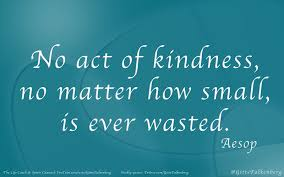 quotes about education and kindness the doctor is listening a simple act of kindness