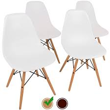 eames chair replica by urbanmod set of 4 kid friendly white
