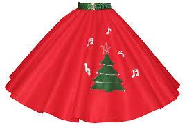 christmas skirt christmas tree skirt with sprinkled notes