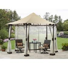 patio gazebo canopy better homes and gardens ridge top gazebo 13 u0027 walmart com