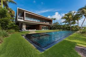 home with pool a luxury miami home with pools lagoons and a