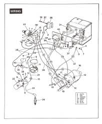 wiring diagrams ez go golf cart battery wiring diagram club car