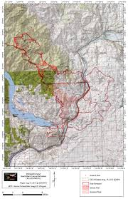 Oregon Fires Map Wolverine Fire U2013 Chelan Washington