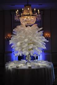 great gatsby centerpieces feather centerpiece and party decoration by theshowerplanner picmia