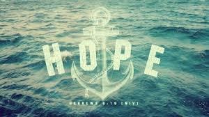 Love Anchors The Soul Hebrews - sunday devotion an anchor for my soul