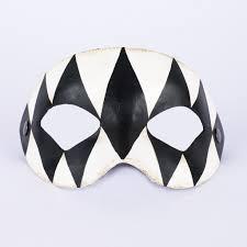 black and white masquerade masks estro harlequin black white masquerade mask vivo masks