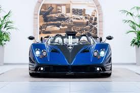 blue pagani another last ever pagani zonda the hp barchetta by car magazine