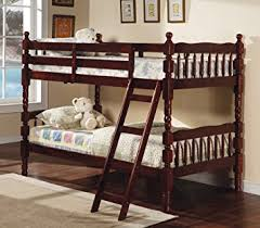 Cherry Bunk Bed Coaster Bunk Bed Size Bunk Bed With