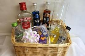 vodka gift baskets personalised vodka gift basket gift ideas gift and