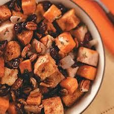 harvest turkey bread salad recipe taste of home