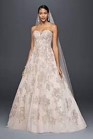 Vintage Ball Gown Strapless Tulle Wedding Dress With Detachable Oleg Cassini Wedding Dresses U0026 Gowns 2017 David U0027s Bridal