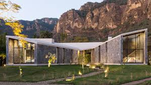 cadaval u0026 sola morales designs stone and concrete retreat in