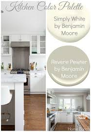 bm simply white on kitchen cabinets whole house paint color ideas home bunch an interior