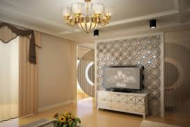 interior 3d design wall claddings tv background wallpaper home