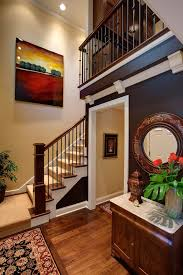Banister Staircase Wood Railings Iron Balusters Staircase Traditional With Iron Stair