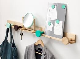 coat rack with hangers
