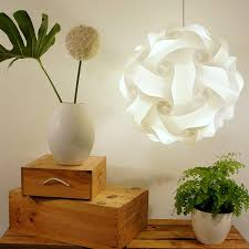 smarty lamps cosmo geometric ball light shade by smart deco