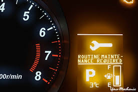 Engine Lights Understanding The Mitsubishi Routine Maintenance Required And