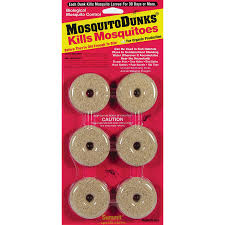 Small Mosquitoes In Bathroom Shop Mosquito Dunks 6 Count Organic Mosquito Killer At Lowes Com