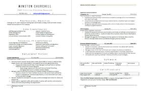 pmp certification resume sample resume examples abacus resumes
