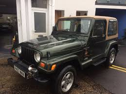 jeep infinity used 1997 jeep wrangler sahara for sale in eastbourne east sussex