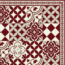 Decorative Vinyl Floor Mats by Pvc Vinyl Mat Linoleum Rug Free Shipping Mix Tiles Pattern 311