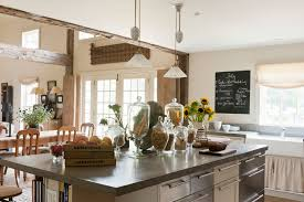modern country kitchen with oak cabinets must farmhouse kitchen decor ideas real simple