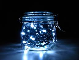 solar led xmas lights maybe we could use christmas lights and mason jars to make the