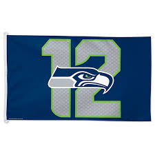Single Flag Amazon Com Nfl Seattle Seahawks 12th Man Flag 3 X 5 Foot