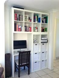 bureau bibliothèque intégré impressionnant bureau biblioth que ikea bibliotheque avec meuble