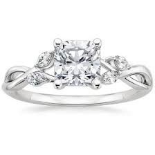 cushion cut engagement ring cushion cut engagement rings brilliant earth