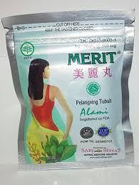 Jamu Pelangsing Merit jamu merit herbal slimming pills 10 x 30 pills food