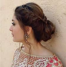 hair steila simpl is pakistan best and easy eid hairstyle for pakistani girls http www
