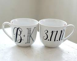 personalized mugs for wedding personalized mugs for wedding favors personalized lettered