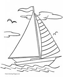 elegant as well as attractive coloring pages of boats with regard