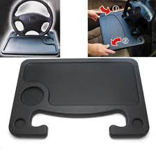 Laptop Steering Wheel Desk Car Dashboard Table Steering Wheel Backseat Mounting Desk Multi