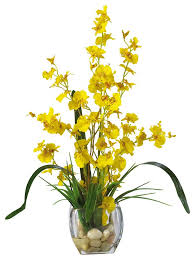 artificial flower arrangements nearly 1119 pp orchid liquid