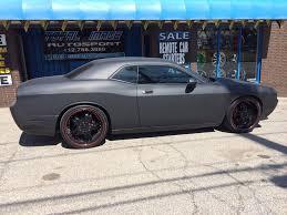 Dodge Challenger Matte Black - photos