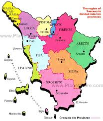provinces of italy map best 25 map of tuscany ideas on tuscany italy map