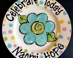 celebration plate celebration plate etsy