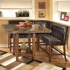 sectional dining room table with fine corner bench dining set