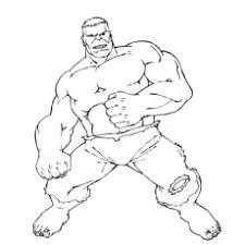 25 popular hulk coloring pages toddler