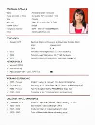 Tips For Making A Resume Writing Tips For Curriculum Vitae Cv