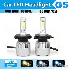 Led Light Bulbs For Headlights by 72wcob Led Headlight H4 High Low Beam Car Led Light Bulb Auto Head