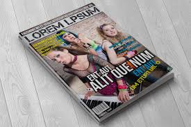 indesign magazine templates free template download