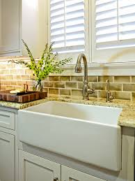 cabinets traditional kitchen sink that is flush with cabinet