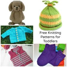 For Toddlers 7 Sweet Free Knitting Patterns For Toddlers Craftsy