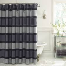 Black And White Vertical Striped Shower Curtain Buy 72 X 84 Shower Curtain From Bed Bath U0026 Beyond