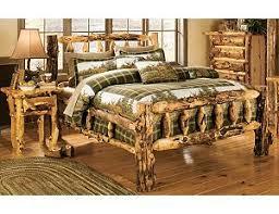 Cheap Log Bed Frames Log Bedroom Furniture